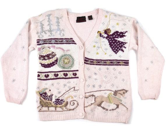 S/M Womens Christmas Sweater Ugly Christmas Sweate