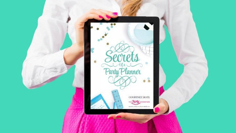 Secrets of a Party Planner eBook image 0