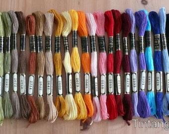 25-100PCS  Plastic Embroidery Floss/&Craft Thread Bobbins fr Storage Holder