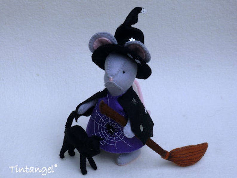 Halloween Witch Mouse DIY kit