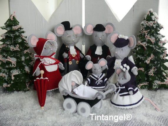 Combi Pakket Voor Het Complete Kersttafereel Met Alle Etsy