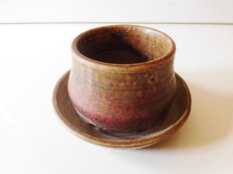 Dutch Studio Pottery Planter / flower pot van Woerden image 0