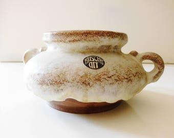 Ruscha Art keramik / ceramic candleholder, Germany, WGP