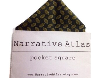Pocket Square - Evergreen Seeds - Garden Collection