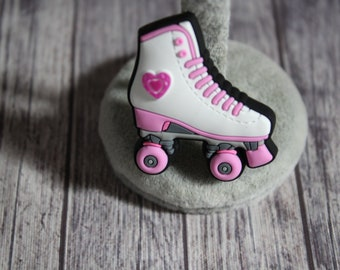 Sk8 Don\u2019t H8 Charm Rollerskate Skatelet Chain Accessory