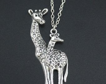 Giraffe Pendant necklace.