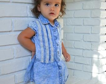 Cali Kids - Lucky Brand jeans dress for toddler