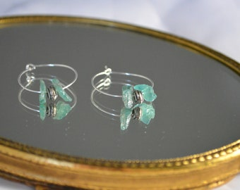 Athens crystal earrings