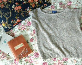 Earth Friendly Apparel - vintage knit top
