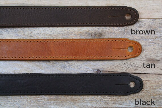 GS55 Leather Guitar Strap