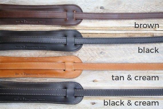 GS24 Leather Guitar Strap in 5 styles