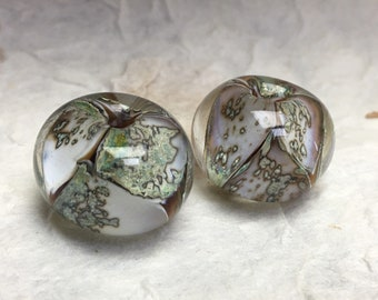 Ivroy Moss lampwork beads,Focal beads,Beautiful lampwork beads,