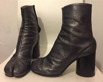 MAISON MARTIN MARGIELA rare tabi boots split toe size eu 38.5