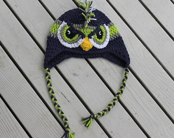 539c089e6f7 Seahawks hat with mohawk