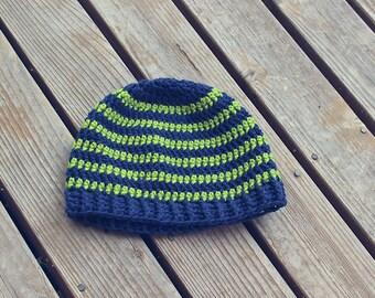 Seahawks Crochet Hat Etsy