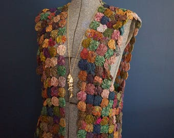 Vintage Silk Vest
