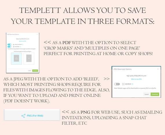 floral wedding program template printable folded ceremony etsy