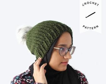 CROCHET PATTERN: Serene Beanie | handmade, crochet hat pattern, spring beanie, digital download, gift for women, gift for her, PDF