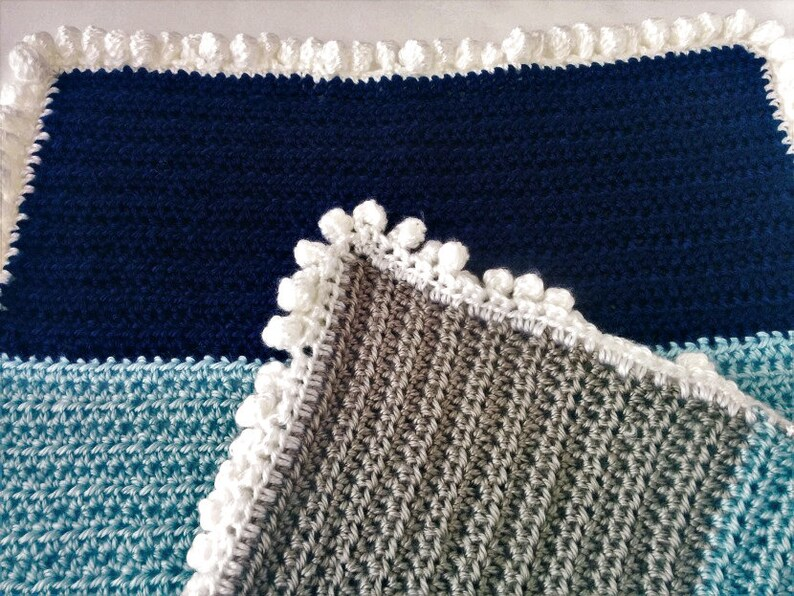 Crochet Pattern Stroller Baby Blanket Crochet Baby Blanket Etsy