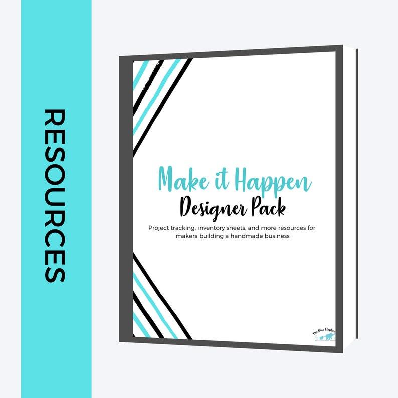 Make it Happen: Designer Pack BLUE VERSION Knitting Crochet image 0