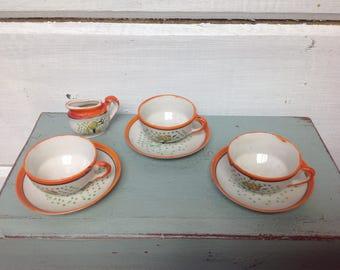 Vintage Japan child's tea set