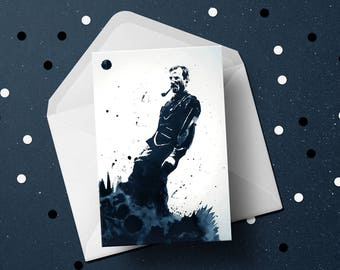 There Will Be Blood (Daniel Day-Lewis) Greeting Card