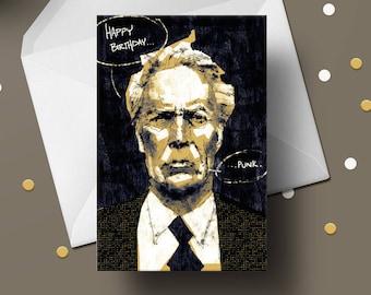Clint Birthday Card