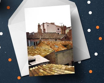Toulouse Rooftops card