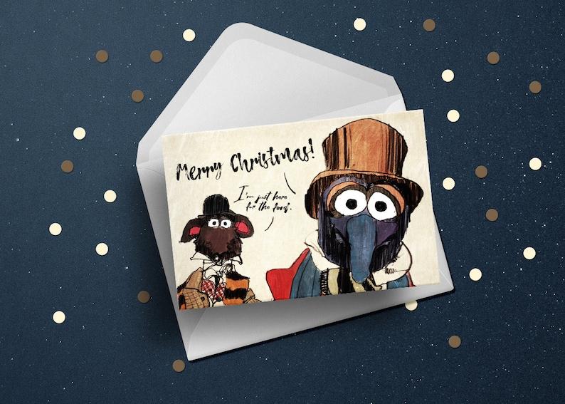 Muppets Christmas Carol happy holidays seasons funny greeting image 1