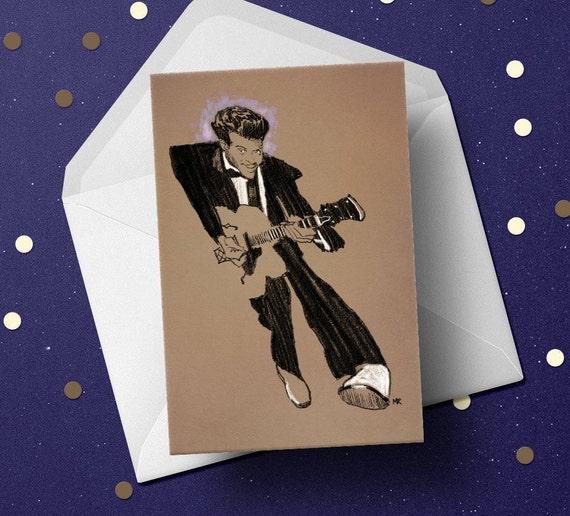 Greeting Card-Rock /' n Roll