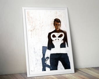 Punisher A4 Print