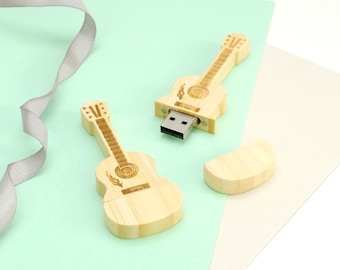 Personalised Guitar USB stick