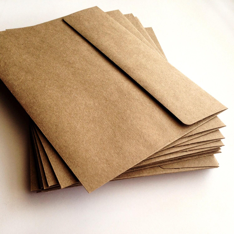 a7 kraft envelopes set of 25 a7 envelope wedding