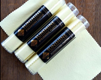 Sunshine Cloth. A cloth to help clean your jewelry.