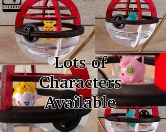 A-L Poke-Ornament Pick Your Character!