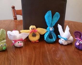 Boo Boo Bunny & Ducks