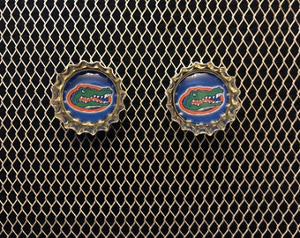 University of Florida Gator Stud Earrings