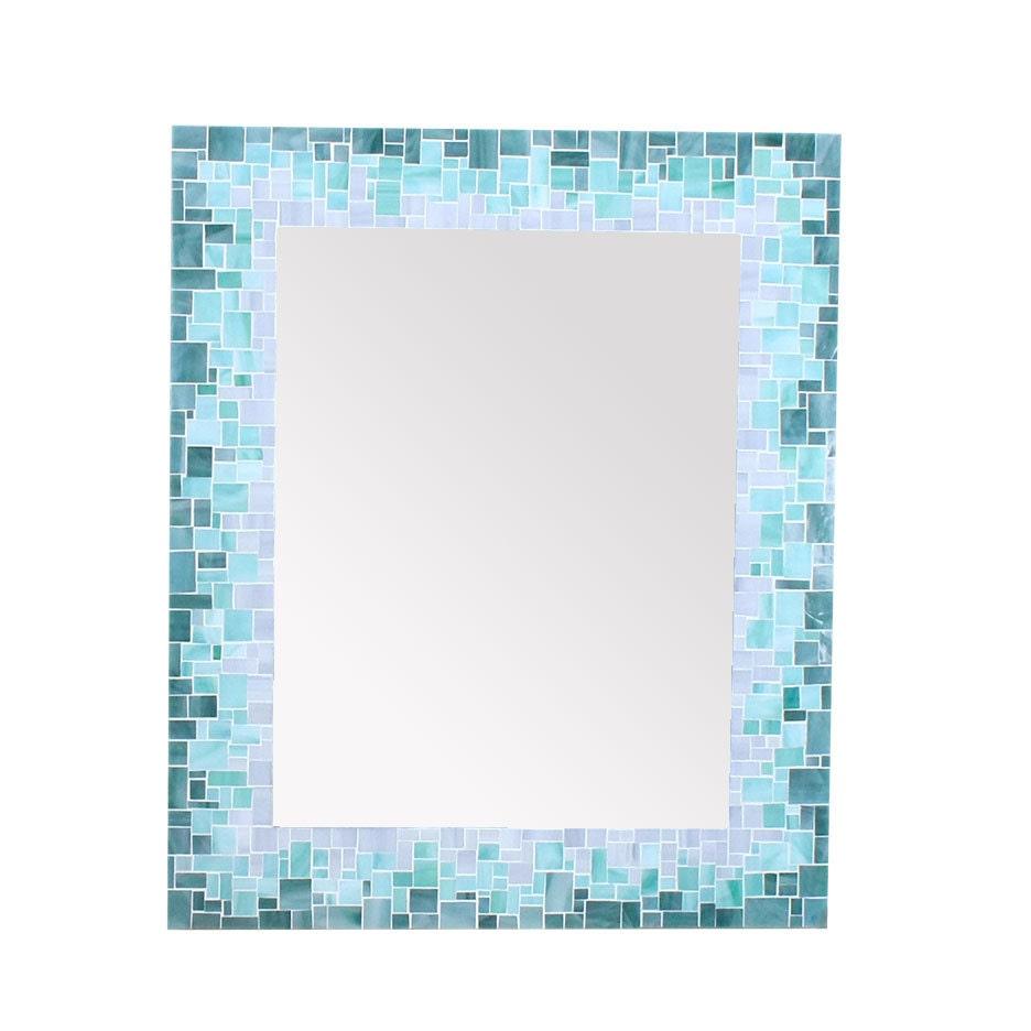 Bathroom Mirror Mosaic Mirror Beach House Sunburst Wall | Etsy