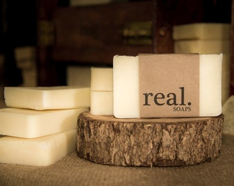 Naked Soap, Handmade Soap, Homemade Soap, Unscented, Natural Soap, Vegan Soap,  Artisan Soap, Bar Soap,Gift, Gift Soap, Sensitive Skin