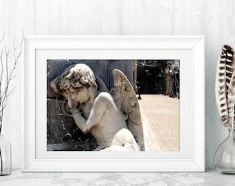 Sleeping Angel art photo print Special SALE