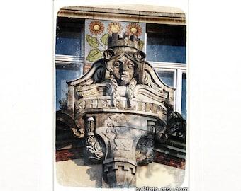 Berlin doorway architectural detail art photo print