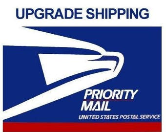 USPS Priority Mail Postage Upgrade
