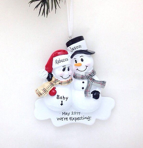 image 0 - Expecting Parents Christmas Ornament / We're Expecting Etsy