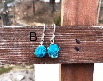 Cavansite Earrings