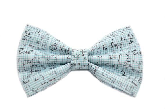 Items similar to Math Equation Bow Tie, with Adjustable Strap, Teacher Gifts, Gifts For Teacher, Math Gift on Etsy