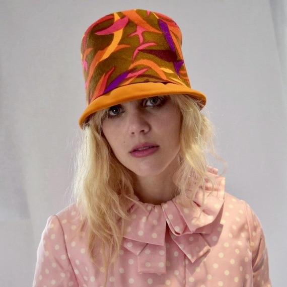 Mod 60s Hat