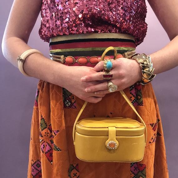Judith Leiber Box Bag
