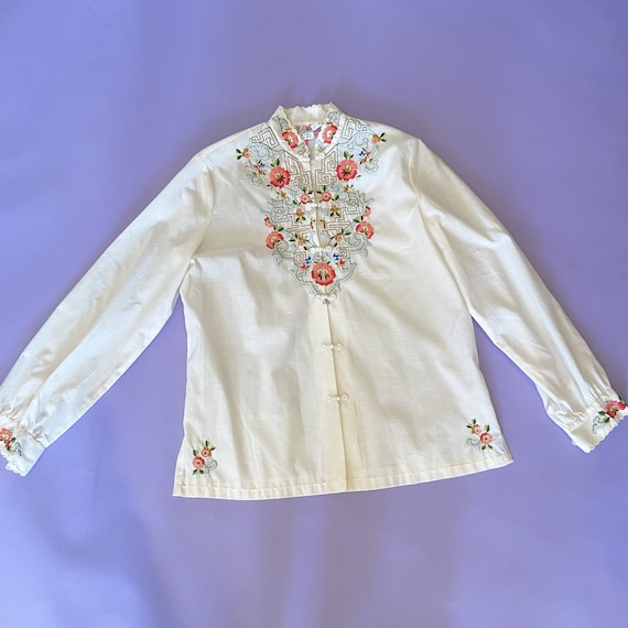 Floral Embroidered Top - image 2