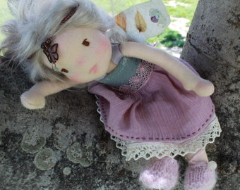 Waldorf inspired doll fary 8 inches / 21 cm Ilona
