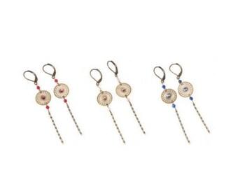 Icarus long earrings